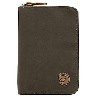 Fjallraven Passport Wallet, Wallets and Small Bags Unisex Adult, Green (Dark Olive), 15 cm