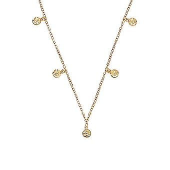 """OELANI - Women's pendant necklace, in gold-plated silver 925 """"Antique""""(2"""