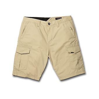 Volcom Miter II Cargo Shorts in Almond