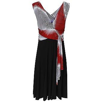 Frank Lyman Crossover tilbake grime halsen kjole
