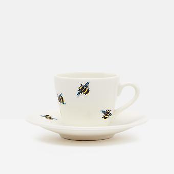 Joules Bee Espresso Cup En Schotel