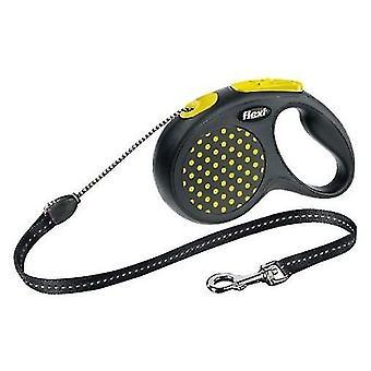 Flexi Correa Design Cordón Amarilla (Perros , Collares, correas y arneses , Correas)
