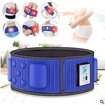 Stimulateur abdominal électrique Corps Vibrant Ceinture Minceur Ventre Muscle Taille Formateur Masseur X5