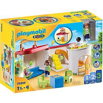 Playmobil 1.2.3 70399 Min tagning längs förskolan i 18+ månader