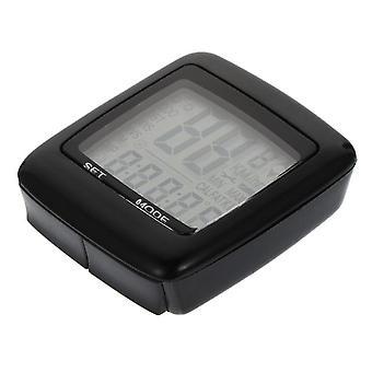 1 Set luminous bike speedometer portable bike computer waterproof speedometer