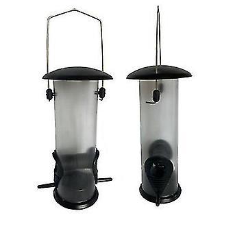 Alimentador de aves al aire libre, alimentador automático de aves colgante