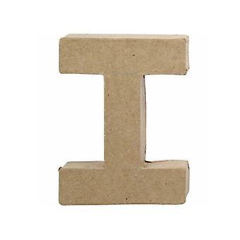 VIIMEISET MUUTAMAT - 10cm pieni paperi mache kirje | Papier Mache -muodot