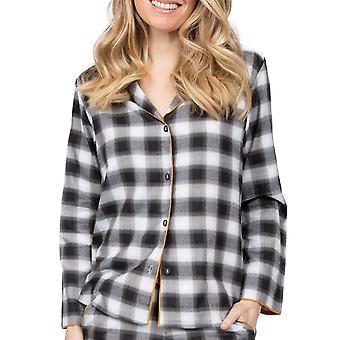 Cyberjammies Annie 4993 Carbón de mujer Comprobar pijama Top