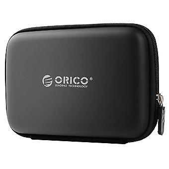 """2,5""""-es HDD tokvédő táska doboz Seagate Samsung WD merevlemez power bank USB kábel töltőhöz"""