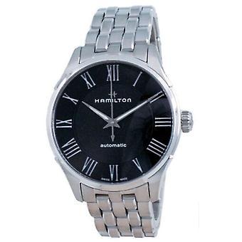 Hamilton Jazzmaster Automatic Black Dial H42535130 Men's Watch