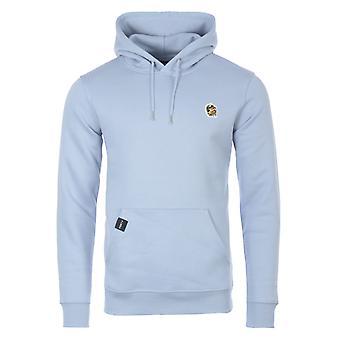 Forty Tom Organic Cotton Blend Hooded Sweatshirt - Cyanus Blue