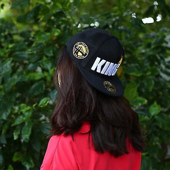 Children Boys Girls King Letter Crown Baseball Cap Adjustable Brimmed Hats