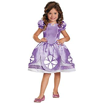 Sofia The First Disney Classic Royal Princess Book Week Toddler Girls Costume