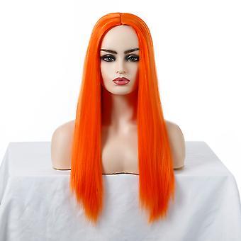 Marke Mall Perücken, Spitze Perücken, realistische flauschige lange Haare gerade Haare Persönlichkeit Perücken