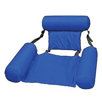 The Inflatable Recliner Is Portable, Waterproof And Easy To Clean, Suitable For Traveling, Camping And Gardening (blue)