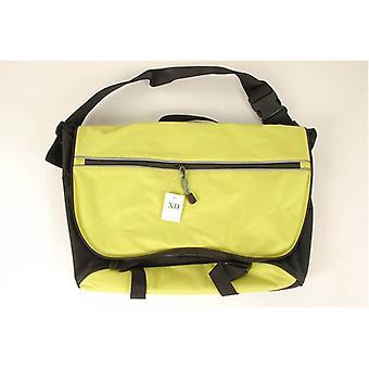 Neon grøn cykel taske med skulder & krop rem vandtæt