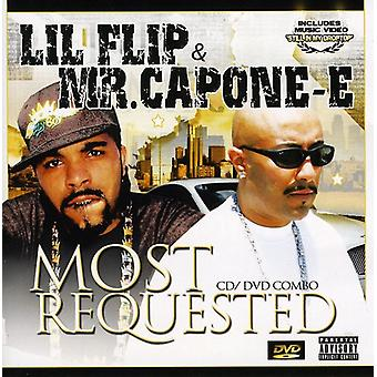 Mr. Capone-E & Lil Flip - Most Requested [CD] USA import