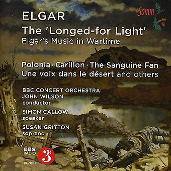 E. Elgar - The Longed-for Light: Elgar's Music in Wartime [CD] USA import