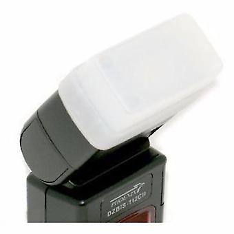 JJC FC-26W fehér Flash diffúzor a Canon 300TL/Phoenix DZBIS 112C11, 112TTL, ZBIS-106AF/Soligor PZ400AFC/Vivitar 730AF, DF340Z