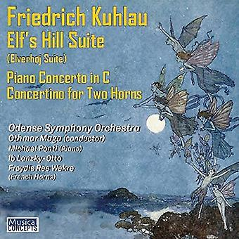 Odense Symphony Orchestra, Othmar Maga, - Kuhlau: Elves Hill Suite Piano Concert [CD] USA import