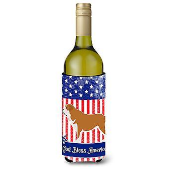 Mastin Epanol mastim espanhol americano garrafa de vinho Beverge isolador Hugger