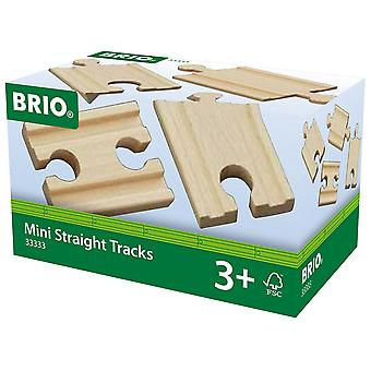 Brio World Railway Track - Mini Straights
