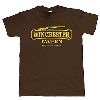 Winchester Taverne, Herren Zombie Film inspiriert T Shirt, tote Shaun Geschenk Papa ihn
