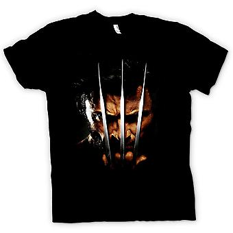 T-shirt crianças-Wolverine - X Men - garra