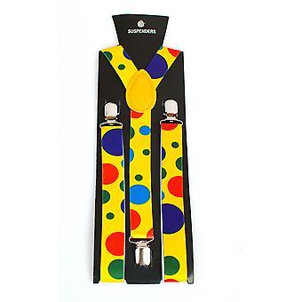 Ceintures et bretelles bretelles de Clown