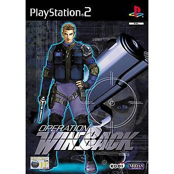 Operation Winback (PS2) - Ny fabrik förseglad