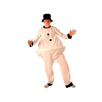 Vet Snowman kostuum (12345)