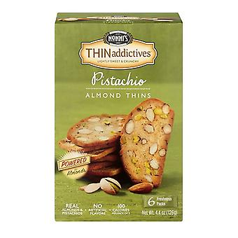 Nonni's Thinaddictives Pistachio Almond Thin Cookies
