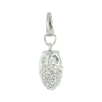 Fossil pendants charms JF00016040 OWL Zyrkonia