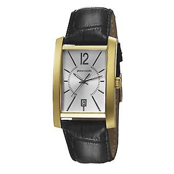 Pierre Cardin Herren Uhr Armbanduhr GARE DE LYON Leder PC106551F03