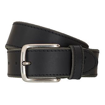 Timberland bälten mäns bälten läder bälte jeans Svart 6763