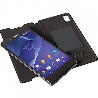 Krusell Ekerö FolioSkin voor Sony Xperia Z3 plus + Z3 + dual Brown