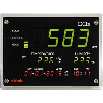 rotronic CO2-Display Carbon dioxide detector 0 - 5000 pages/min