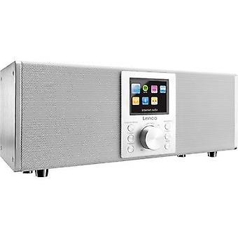 レンコ協奏曲 DIR-2000 インターネット デスク ラジオ DAB+, FM インターネット ラジオ, ブルートゥース, USB, DLNA, AUX スポティファイ ホワイト