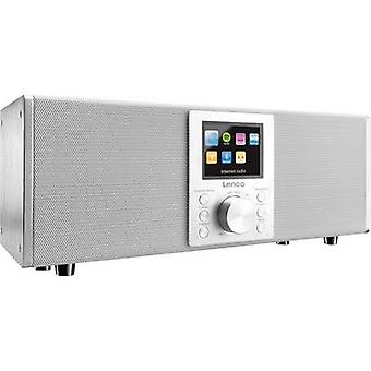 Lenco Concerto DIR-2000 Internett-desk radio DAB +, FM Internett-radio, Bluetooth, USB, DLNA, AUX Spotify hvit