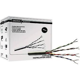 Digitus DK-1511-V-1 cable de red CAT 5e U/UTP 4 x 2 x 0,20 mm ² Grey 100 m