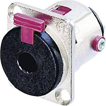 Neutrik NJ3FP6C 6,35 mm ljuduttag ärm socket, rak stift antal stift: 3 Stereo Silver 1 dator