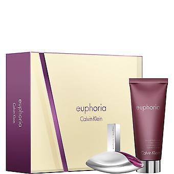 Calvin Klein Euphoria prezent zestaw 50ml EDP + 200ml balsam do skóry zmysłowy