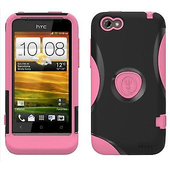 Trident Protective Aegis Case for HTC ONE V (Pink) - AG-ONEV-PK