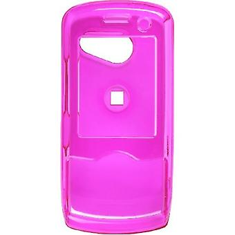 5 Pack -Wireless Solutions Snap-On Case for LG LX-370/UX-370/MT-375/Lyric/Force - Dark Pink
