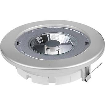 Megatron MT76340 Planex Recess-mount bracket LED (monochrome) GX5.3 9 W Silver