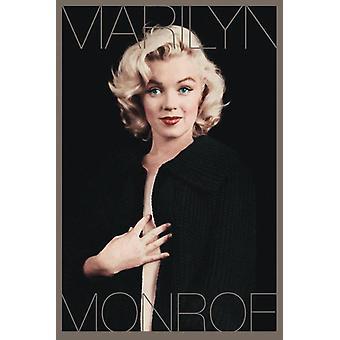 Marilyn Monroe Poster Black & Gold 91.5 x 61 cm