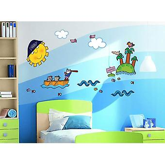 Nicoletta Costa Adhesive wall decoration Come pirates