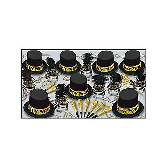 Канун нового года пакет золото Top Hat для 50 человек