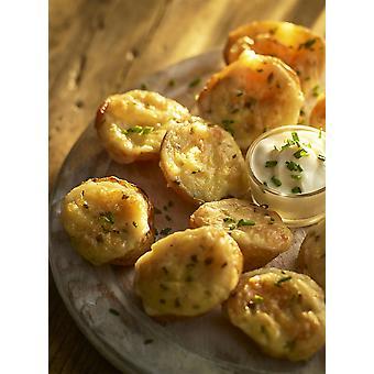 Bannisters Frozen Mini Cheese & Chive Potato Skins