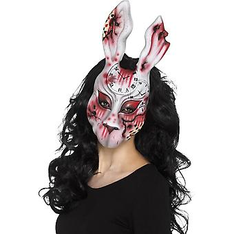 Evil Bunny Mask, Multi-Coloured, EVA